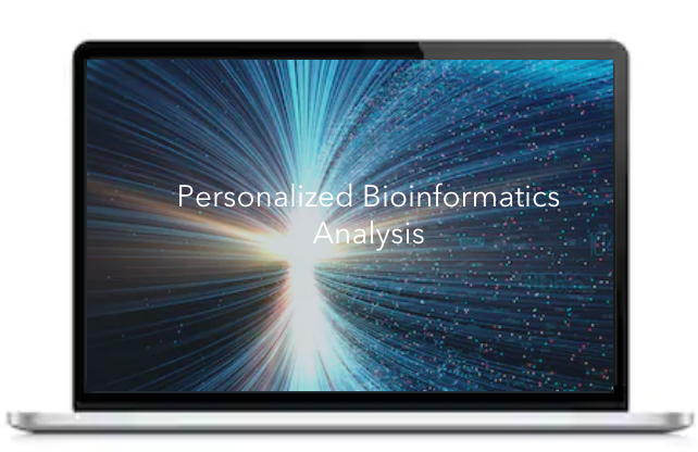 Personalized bioinformatics analysis