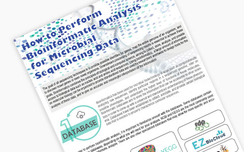 How to Perform Bioinformatics Analysis for Microbial Sequencing